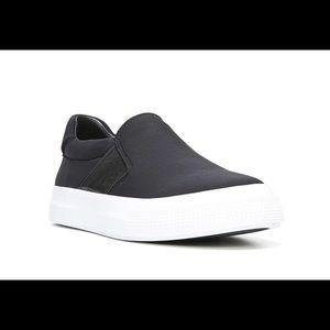 Vince Torin Black Fabric platform sneaker